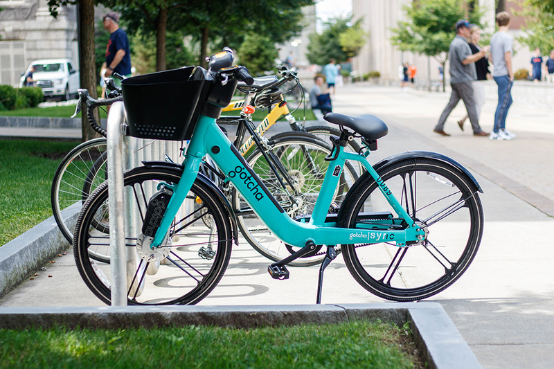 Electronic bike share program to begin operating at SU - The